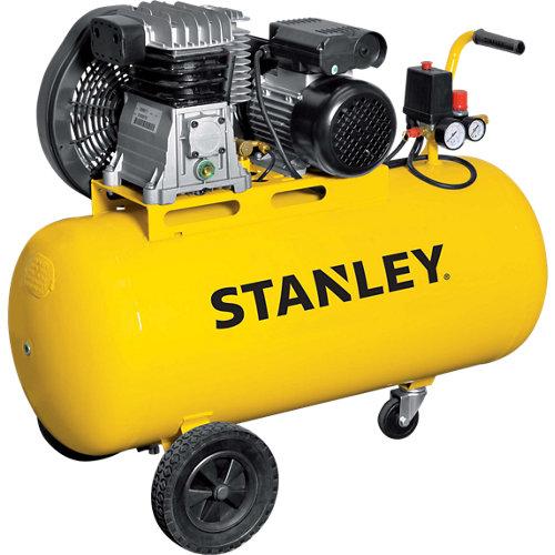 Compresor correas stanley b 345e/9/100 de 3 cv y 100l de depósito