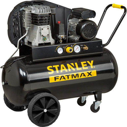 Compresor correas stanley fatmax b350/10/100 de 3 cv y 100l de depósito