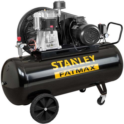 Compresor correas stanley b651/11/270 de 5.5 cv y 270l de depósito