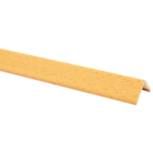 Guardavivo de pvc haya adhesivo 28x28 mm x 2,44 m (ancho x grueso x largo)