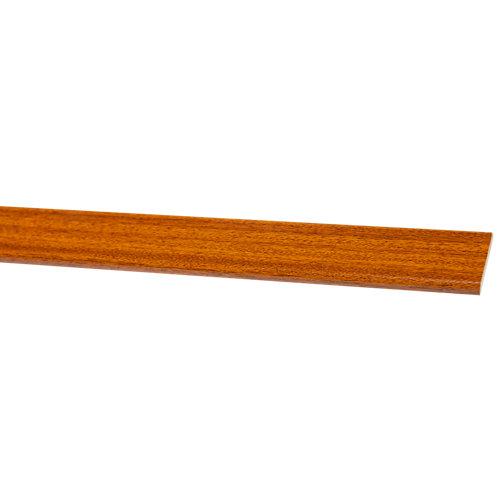 Bizcocho de mdf melamina sapelly 38x5 mm x 2,25 m (ancho x grueso x largo)