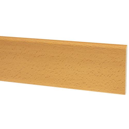 Jamba de mdf melamina haya 70x10 mm x 2,25 m (ancho x grueso x largo)