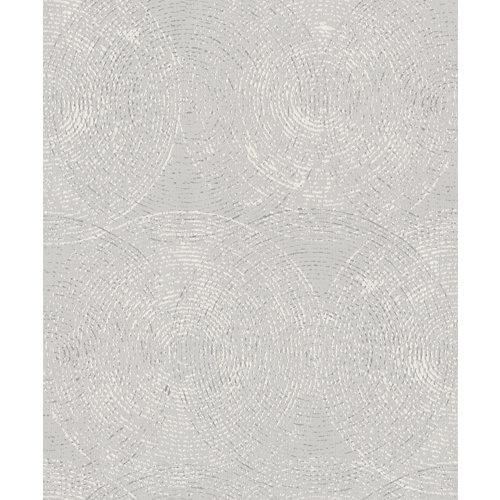 Papel pintado esferas gris 5,3 m²