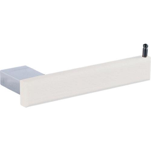 Portarollo wc natura blanco brillante 17.5x3x7 cm