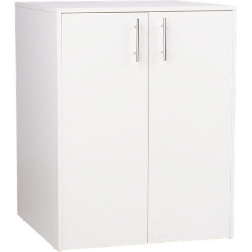 Armario madera en kit en color blanco de 88x69x69 cm con 2 puertas