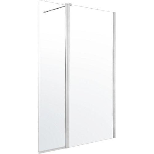 Panel ducha remix 2h transparente 130 cm