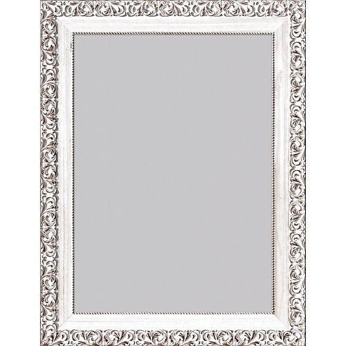 Espejo rectangular romantic crema 86 x 66 cm