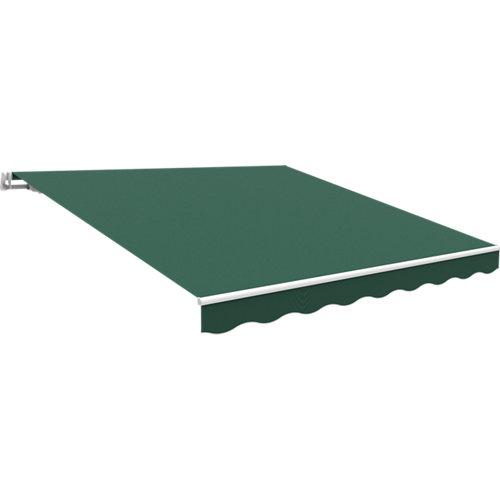 Toldo con extensión kronos essencial verde 300x200 cm