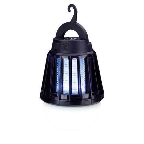 Lámpara eléctrica mata insectos jata negro