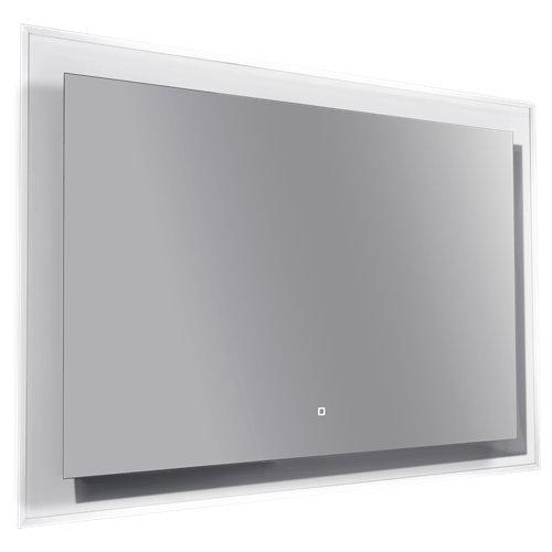 Espejo de baño con luz led orsay 120 x 80 cm