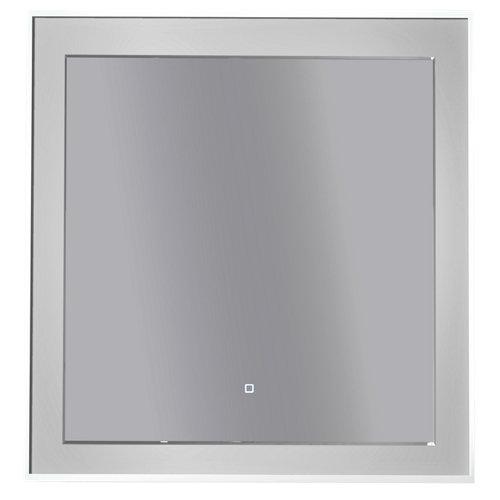 Espejo de baño con luz led orsay 80 x 80 cm