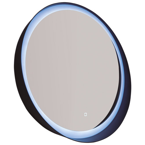 Espejo de baño con luz led round 60 x 60 cm