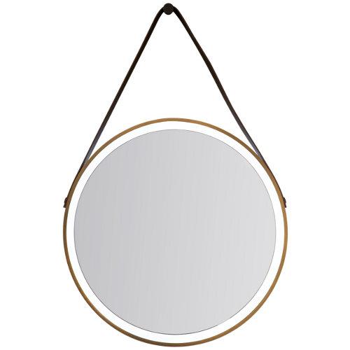 Espejo de baño con luz led tate 60 x 60 cm