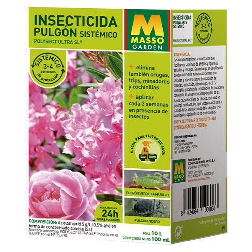 Insecticida massó contra pulgones sistémico 100 ml