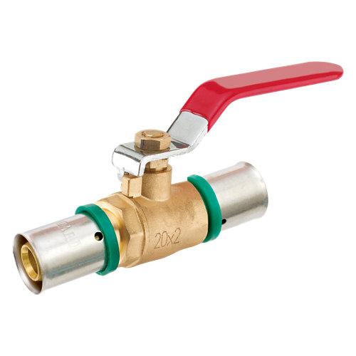 Válvula press de palanca ø20 mm