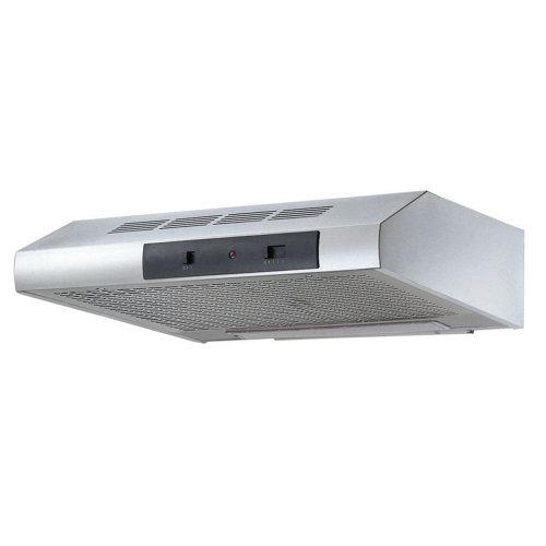 Campana extractora eurodomo esl 61 de 190m3/h plata clase d