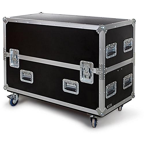 Caja de transporte para monitores tv fpl-50d fonestar negro