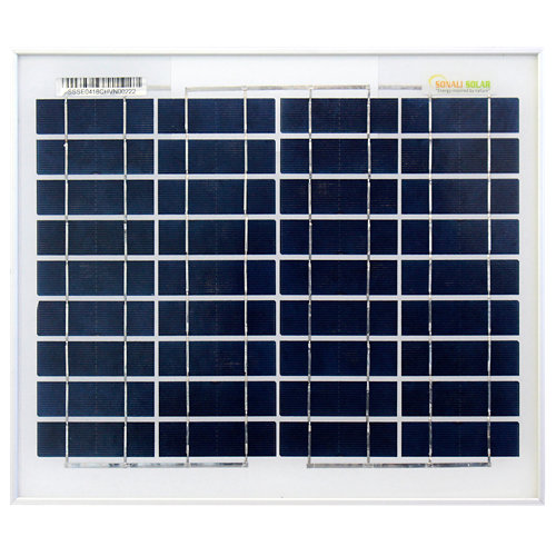 Panel solar 10w silicio policristalino 12v