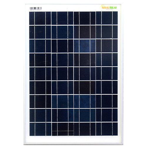 Panel solar 20w silicio policristalino 12v