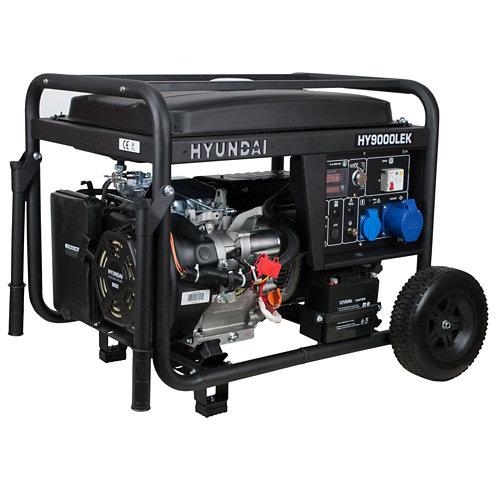 Generador hyundai hy9000lek gasolina sin plomo de 6000 w