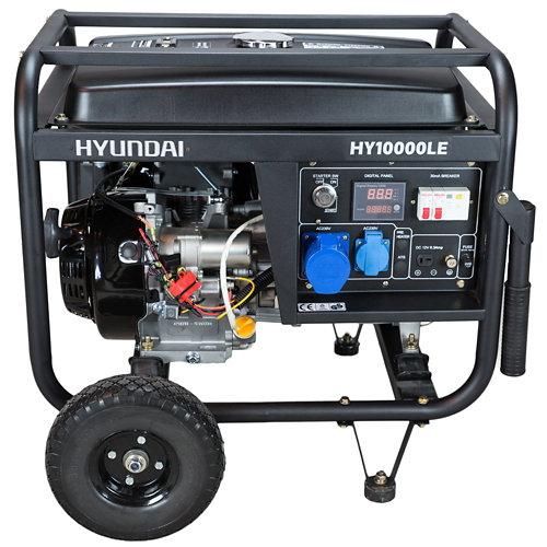 Generador hyundai hy10000lek gasolina sin plomo de 7800 w