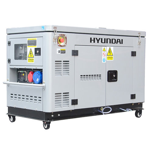 Generador hyundai dhy12000xse-t diésel de 9000 w
