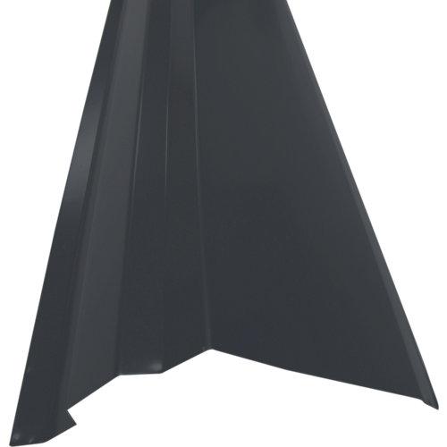 Faldón lateral acero rooftile 980 gris 1200 mm