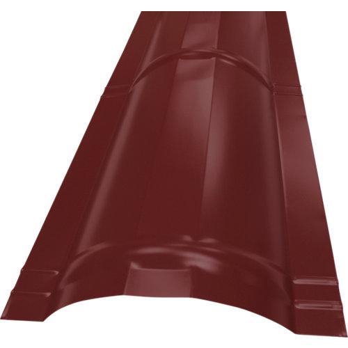 Cumbrera redonda rooftile 980 rojo 2100 mm