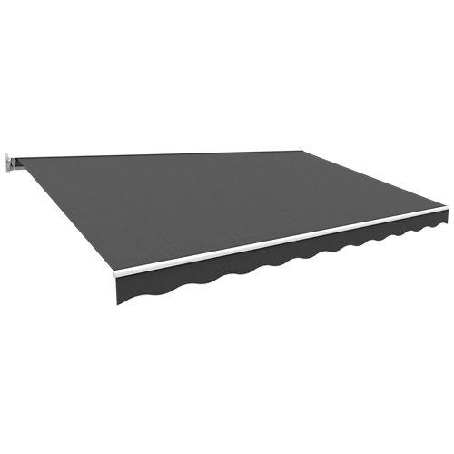 Toldo kronos semicofre scandi gris 400x250 cm