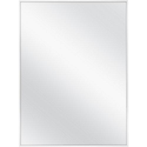 Espejo de baño steamless blanco 60 x 80 cm
