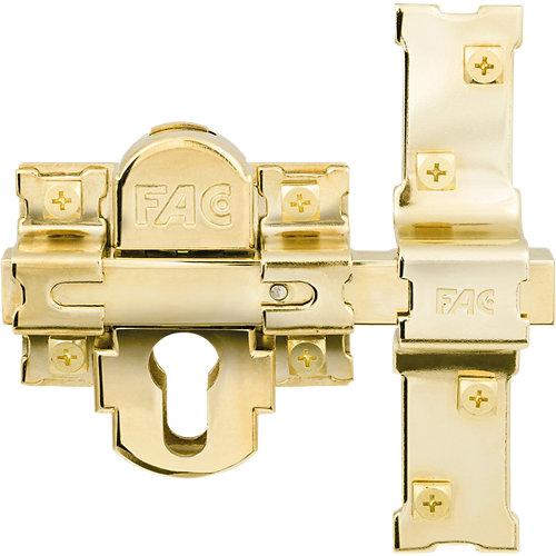 Cerrojo de seguridad interior / exterior de 142 mm ancho dorado