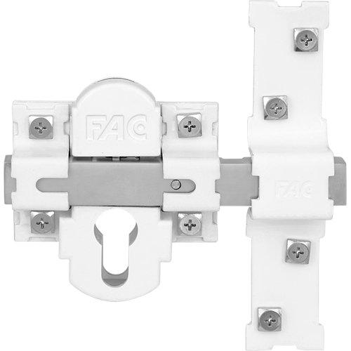 Cerrojo de seguridad interior / exterior de 142 mm ancho blanco