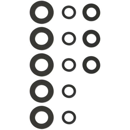 """Set de 13 juntas variadas ,planas 1/2"""" y 3/4"""", toricas modelo nº 15"""
