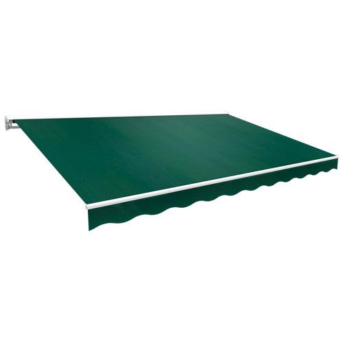 Toldo kronos semicofre verde 300x250 cm