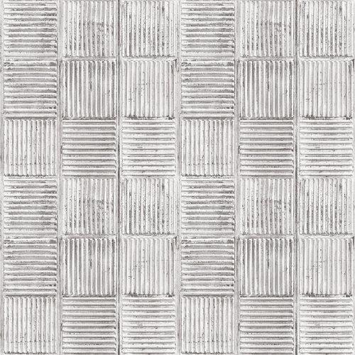 Papel baldosa gris 5,3 m²