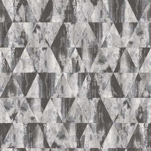 Papel rombos gris 5,3 m²