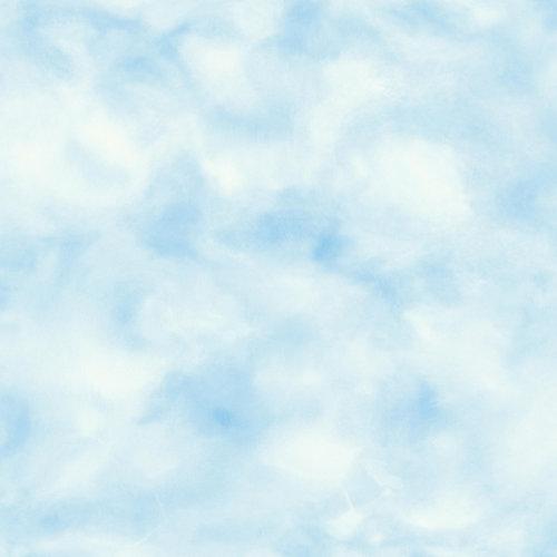 Papel pintado adhesivo nubes azul 2,6 m²