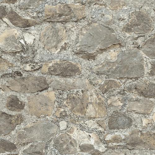 Papel pintado adhesivo piedra rustica 2,6 m²
