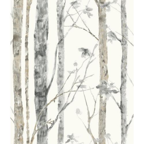 Papel pintado adhesivo árbol 2,6 m²