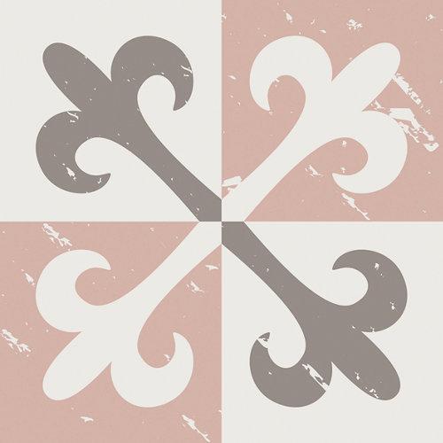 Sticker decorativo azulejos pink
