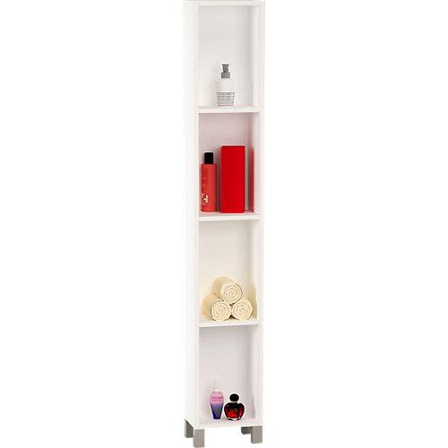 Columna de baño open blanco 25x181x25cm