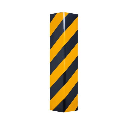 Protector angulo recto negro/amarillo 50x20.5x4cm