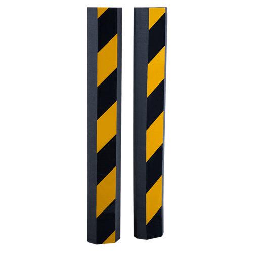 Pack 2 protectores de choques negro y amarillo