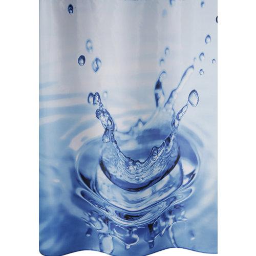 Cortina de de baño gota poliéster 180x180 cm