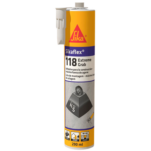 Masilla sikaflex 118 290 ml