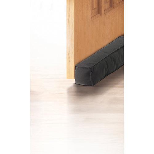 Burlete textil gris oscuro para puerta 95 cm
