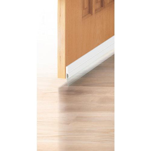Burlete bajo de puerta blanco 100 cm