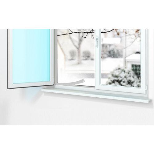 Burlete blanco termoplástico para puerta y ventana