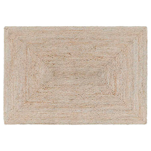 Alfombra beige yute yute ibiza 120 x 170cm