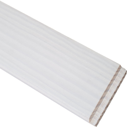 Rodapié liso blanco 7x200x1 cm